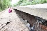 Cần Đước xảy ra sụt lún nghiêm trọng