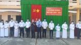 Phó Chủ tịch HĐND tỉnh Long An - Nguyễn Thanh Cang dự lễ khai giảng tại Trường THPT Tân Thạnh