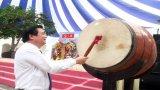Bí thư Tỉnh ủy Long An - Phạm Văn Rạnh dự lễ khai giảng tại Đức Hoà