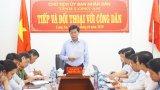 Chủ tịch UBND tỉnh Long An tiếp giải quyết khiếu nại và đối thoại với công dân