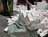 Bắt giữ 10.200 gói thuốc lá ngoại nhập lậu