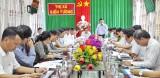 Phó Chủ tịch UBND tỉnh Long An - Phạm Văn Cảnh chủ trì giải quyết kiến nghị của thị xã Kiến Tường