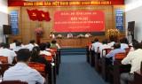 Tỉnh ủy tiếp tục góp ý hoàn thiện dự thảo văn kiện Đại hội XI Đảng bộ tỉnh