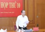 Phiên họp thứ 10 Ban Chỉ đạo Cải cách tư pháp Trung ương