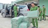 Hàng lậu qua địa bàn huyện Đức Hòa được chở bằng ô tô