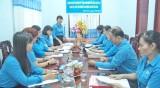 Đoàn giám sát chuyên đề Tổng LĐLĐ Việt Nam làm việc với LĐLĐ Đức Hòa