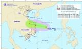 Áp thấp nhiệt đới giật cấp 9 và khả năng mạnh lên thành bão