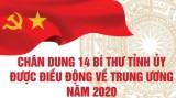 Chân dung 14 Bí thư Tỉnh ủy được điều động về Trung ương năm 2020