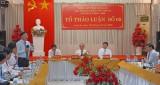 Trách nhiệm, tâm huyết đóng góp Dự thảo Báo cáo chính trị