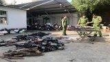 Phát hiện 33 vụ vi phạm về vũ khí, vật liệu nổ, công cụ hỗ trợ