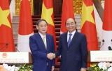 Việt Nam-Nhật Bản trao đổi các văn kiện hợp tác trị giá gần 4 tỷ USD