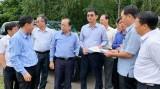 Phó Chủ tịch UBND tỉnh Long An – Phạm Văn Cảnh làm việc với huyện Tân Hưng về các công trình xây dựng cơ bản