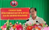 Bí thư Huyện ủy Tân Hưng đối thoại với nhân dân về kinh tế hợp tác