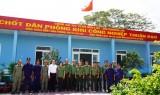 Trà Vinh học tập kinh nghiệm xây dựng phong trào bảo vệ an ninh tổ quốc tại khu công nghiệp Thuận Đạo