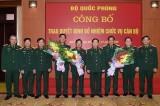 Bộ Quốc phòng trao quyết định bổ nhiệm 2 Thứ trưởng và lãnh đạo QK7