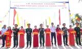 Kiến Tường: khánh thành và đưa vào sử dụng công trình cầu dân sinh Bắc Chan