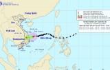 Bão số 10 gây mưa lớn tại khu vực miền Trung và Tây Nguyên
