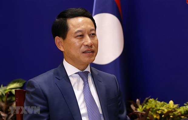 Lao Minister of Foreign Affairs Saleusay Kommasith (Photo: VNA)