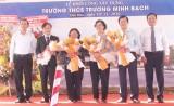 Nguyên Chủ tịch nước - Trương Tấn Sang dự lễ khởi công xây dựng Trường THCS Trương Minh Bạch