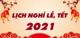 Long An: Tết Dương lịch năm 2021 người lao động được nghỉ liên tiếp 03 ngày