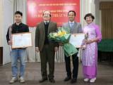 Tổ chức trao Giải thưởng Văn học nghệ thuật năm 2020
