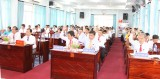HĐND huyện Thủ Thừa khóa XI tổ chức Kỳ họp thứ 21