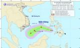Áp thấp nhiệt đới đi vào Biển Đông, có khả năng mạnh lên thành bão
