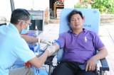 Tiếp nhận trên 240 đơn vị máu trong Ngày hội Hiến máu tình nguyện