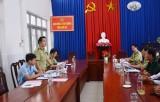 Văn phòng Thường trực Ban chỉ đạo 389 Quốc gia làm việc tại Long An
