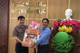 Phó Bí thư Thường trực Tỉnh uỷ Long An chúc tết huyện Cần Giuộc