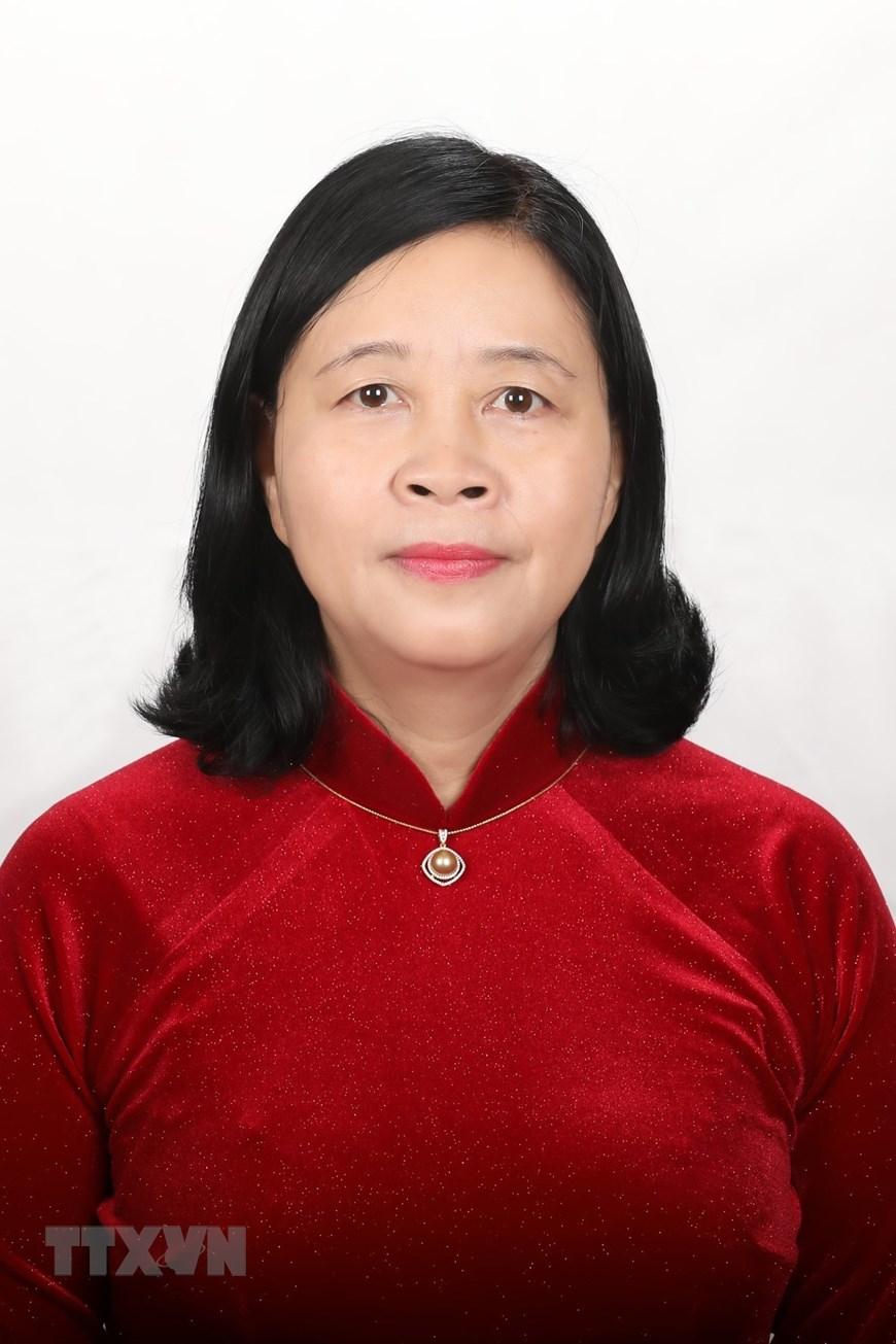 Đồng chí Bùi Thị Minh Hoài, Bí thư Trung ương Đảng khóa XIII, Phó Chủ nhiệm thường trực Ủy ban Kiểm tra Trung ương. (Ảnh: TTXVN)