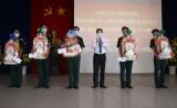 Phó Chủ tịch HĐND tỉnh Long An – Mai Văn Nhiều thăm, chúc Tết tại Tiểu đoàn 1