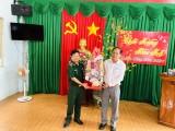 Lãnh đạo tỉnh Long An thăm và chúc tết cán bộ, chiến sĩ Đồn Biên phòng Sông Trăng