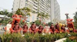 Phúc Khang khánh thành Công viên hoa Xuân tại Diamond Lotus Riverside