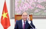 Lãnh đạo Lào và Campuchia chúc mừng năm mới nhân dân Việt Nam