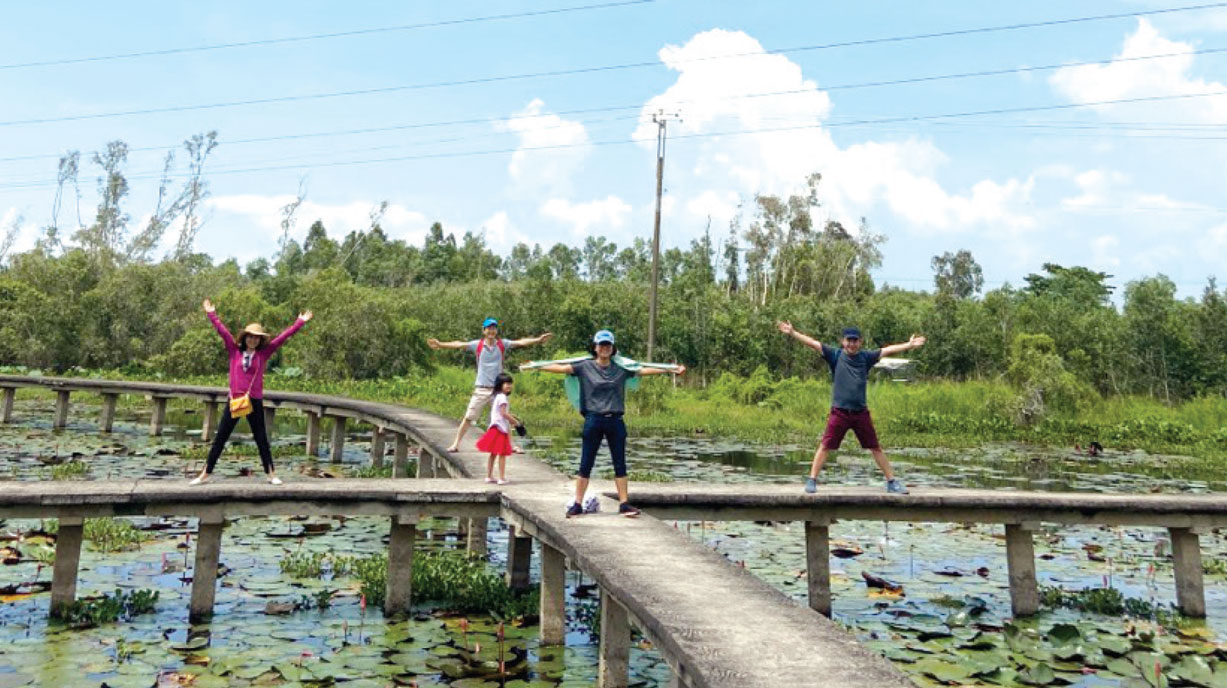 The Ecological Tourist Site of Tan Lap Floating Village
