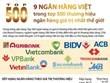 Chín ngân hàng Việt trong top 500 ngân hàng giá trị nhất thế giới