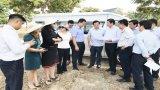 Chủ tịch UBND tỉnh khảo sát dự án khu công nghiệp, khu đô thị tại huyện Cần Giuộc