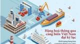 Hàng hóa thông qua cảng biển Việt Nam đạt kỷ lục