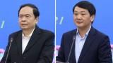 Giới thiệu ông Trần Thanh Mẫn và Hầu A Lềnh ứng cử đại biểu Quốc hội