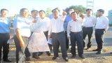 Bí thư Tỉnh ủy - Nguyễn Văn Được khảo sát Đường tỉnh 830 đoạn qua địa bàn huyện Cần Đước