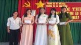 Trường Tiểu học An Ninh Đông tổ chức Hội thi Duyên dáng áo dài chào mừng ngày 08/3
