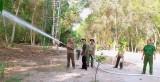 Kiểm tra công tác phòng, chống cháy rừng tại huyện Tân Thạnh