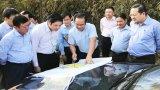 Bí thư Tỉnh ủy Nguyễn Văn Được làm việc với Ban Thường vụ Huyện ủy Cần Giuộc