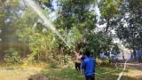 Khu Công nghệ Môi trường xanh: Tăng cường công tác phòng cháy, chữa cháy rừng