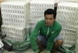 Công an huyện Đức Huệ bắt giữ hơn 18.000 gói thuốc lá ngoại nhập lậu