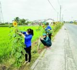 Thanh niên chung sức xây dựng nông thôn mới