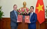 Trao Công hàm Hiệp định thương mại tự do Việt Nam và Anh