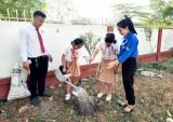 Trường Hội nhập Quốc tế iSchool Long An: Phát động phong trào 'tết trồng cây'