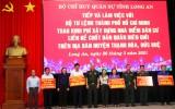 Bộ Tư lệnh TP.HCM hỗ trợ kinh phí xây dựng nhà điểm dân cư liền kề chốt dân - quân biên giới Long An